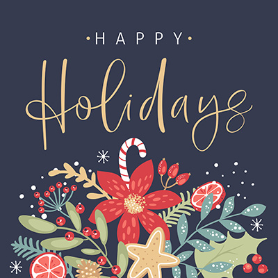 Happy Holidays From Lallis & Higgins Insurance